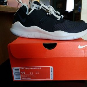 Nike Free RN Commuter 2018 Men's Sz 11 Black Oil
